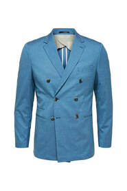 Double-Breasted Slim Fit Blazer