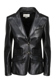 2BNT LEATHER BLAZER