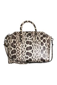 Anaconda Skin Antigona Bag