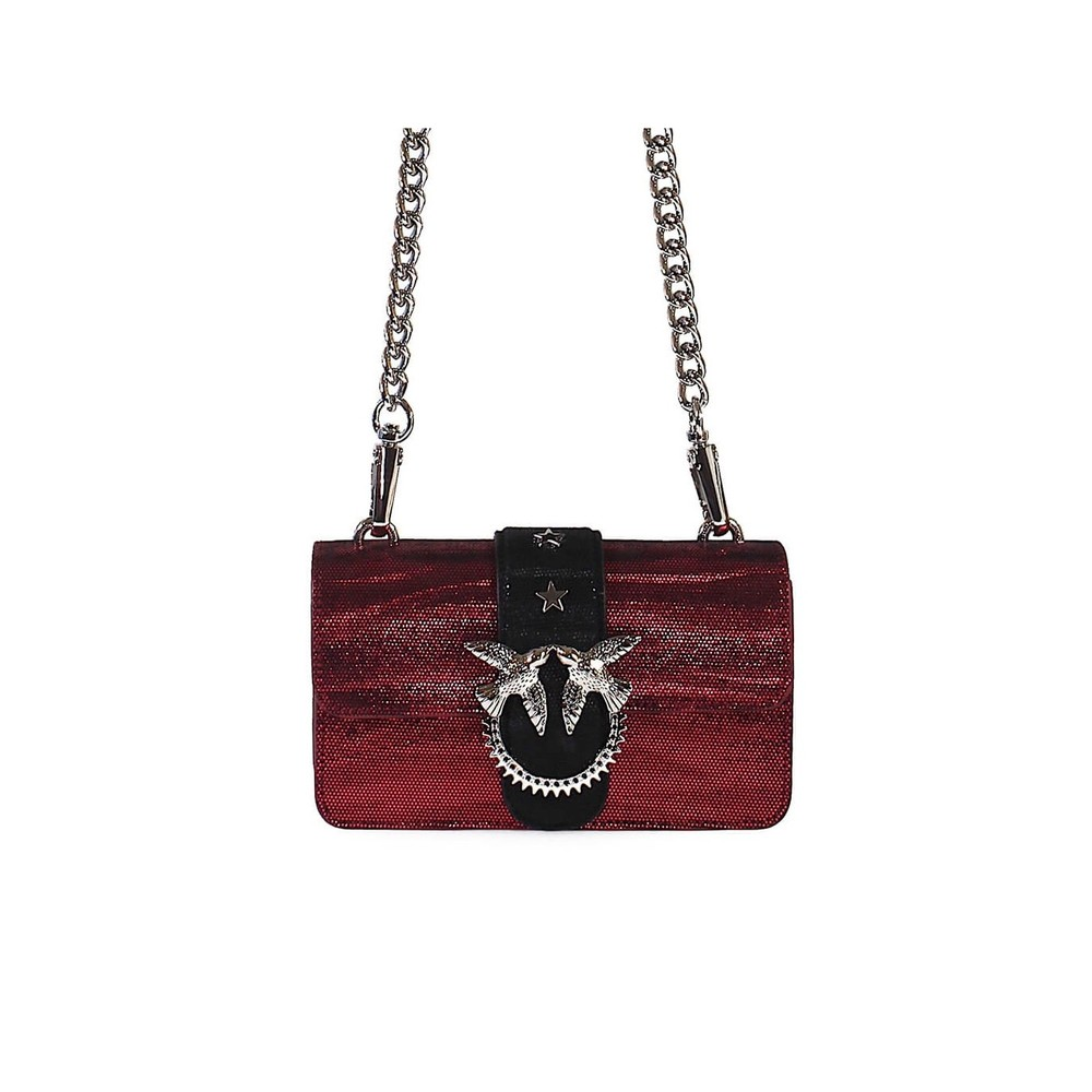 ZEBRA METALL MINI LOVE BAG