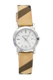 brukt rustfritt stål Nova Check BU1387 armbåndsur for kvinner