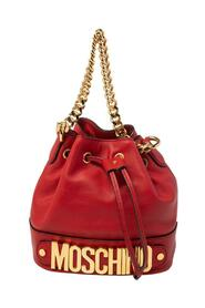 Leather Classic Logo 30th Anniversary Special Edition Drawstring Bucket Bag
