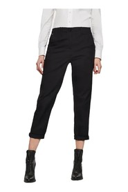 G-STAR D16320 9405 PAGE MID BOYFRIEND PANTS Women BLACK