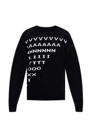 Sweater with lettering