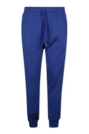 Jersey Jogging Pants With Branded Plate