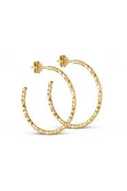 Hoops Diamond Cut Large Smykker