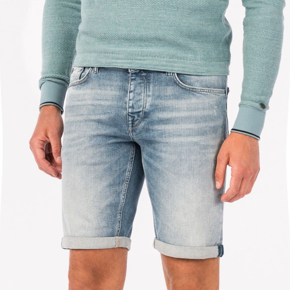 Denim Short High Summer Faded