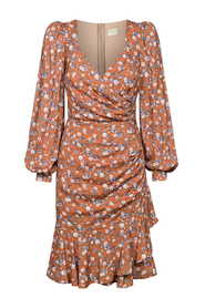 Dopasowana drapowana sukienka Sheila