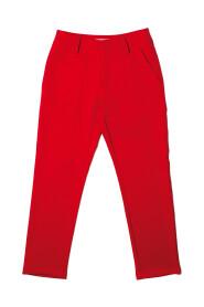 Silvian H dames broeken lange-broek Rood