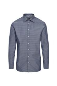 Blå Matinique Marc Lux Diamond Skjorte