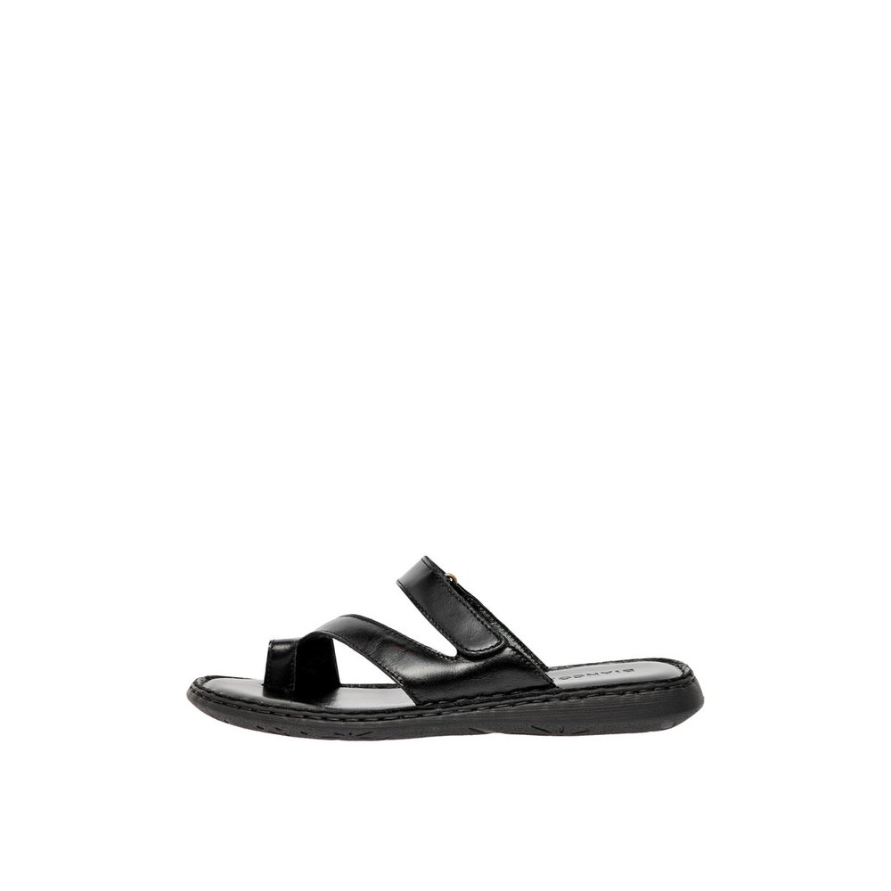 Toe loop leather Sandals