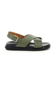 fussbett calfskin sandals