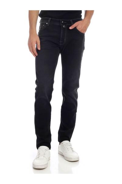 Black Jeans Jacob Cohën Jeansy Regular Fit