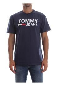 TOMMY JEANS DM0DM04837 TJM TOMMY CLASSIC T SHIRT AND TANK Men BLACK IRIS