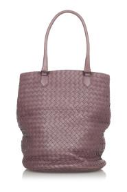 Używana skórzana torba na ramię Intrecciato
