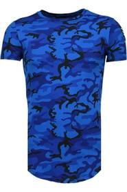 Leger Print Borduur - T-Shirt