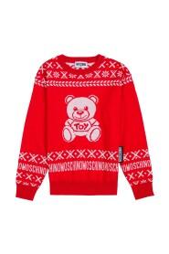 Sweater with Teddy Bear Print