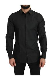 Cotton  Slim Fit Solid Shirt