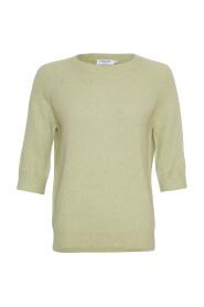 Lysegrønn Aimee Mohair 2/4 Pullover