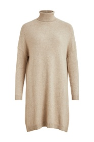 Rollneck knit dress