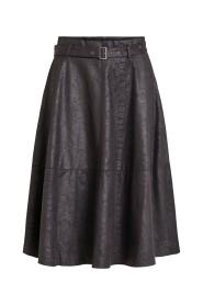 Midi skirt High waisted