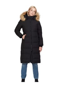 Long Slim Padded Parka
