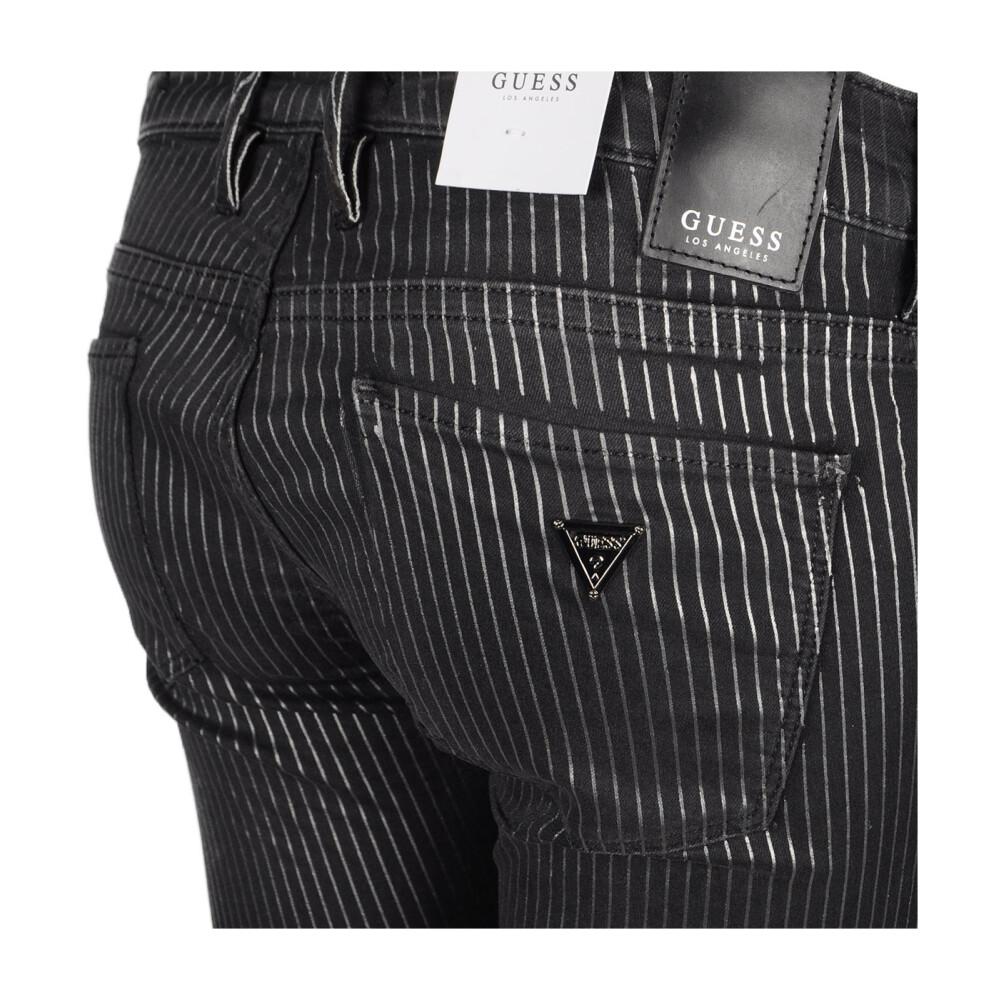 Black Spodnie Jegging  Guess  Spodnie materiałowe dopasowane  - Odzież Damska 2020 nyFTsiFK