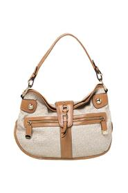 Signature Canvas and Leather Hobo