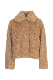 MARCELLA FUR SHARED SINGLE BREASTED JACKET
