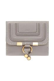 Logo-embossed wallet
