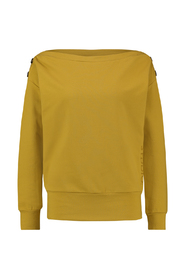 Studio Anneloes 03416 Babs sweater Harvest gold yellow