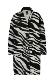 Zebra coat cooked wool