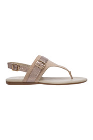 women's suede sandals
