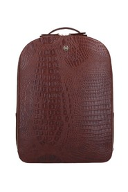 Claire Laptop Backpack Croco 13.3