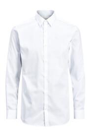 Wit Jack&jones JPRNON IRON SHIRT L/S NOOS Overhemd