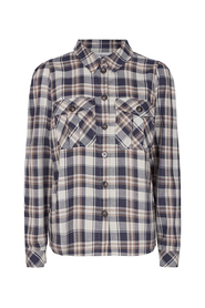 Uni Check Puff Shirt