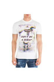 men's short sleeve t-shirt crew neckline don t be a sheep