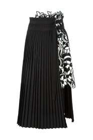 Lily Pleated A-line Skirt