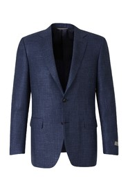 Straight Houndstooth Blazer