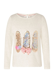 Sparkle Shoe Daywear Top