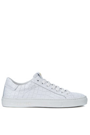 Tuscany Croco white leather sneaker