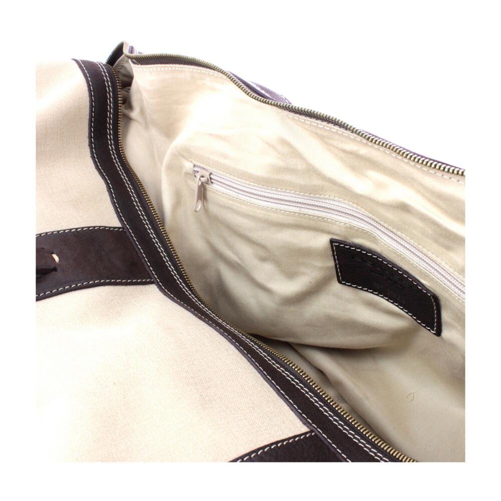 Brown Week End Bag | Piquadro | Weekendtassen | Herentassen