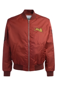 Bomber Jumping Tiger rosso con logo