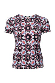 Pre-owned Multi Print Floral Cc Top