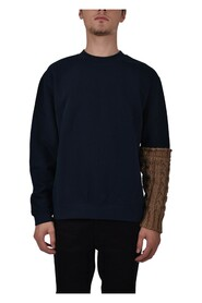 FELPA GIROCOLLO WOOL ONE-SLEEVE