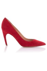Suede Pointed Toe Pumps