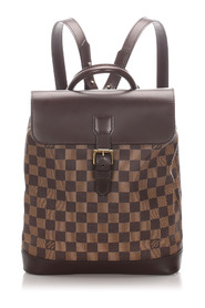 Damier Ebene Soho Backpack Canvas