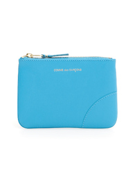 Wallet color block pouch