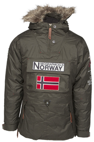 Geographical Norway Building lady ny 11 Anorak