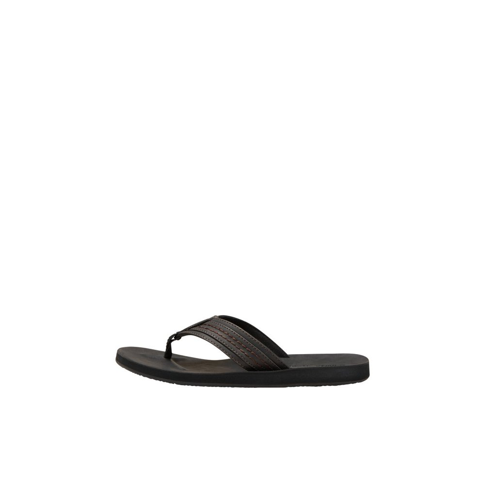 Sandals Toe post leather